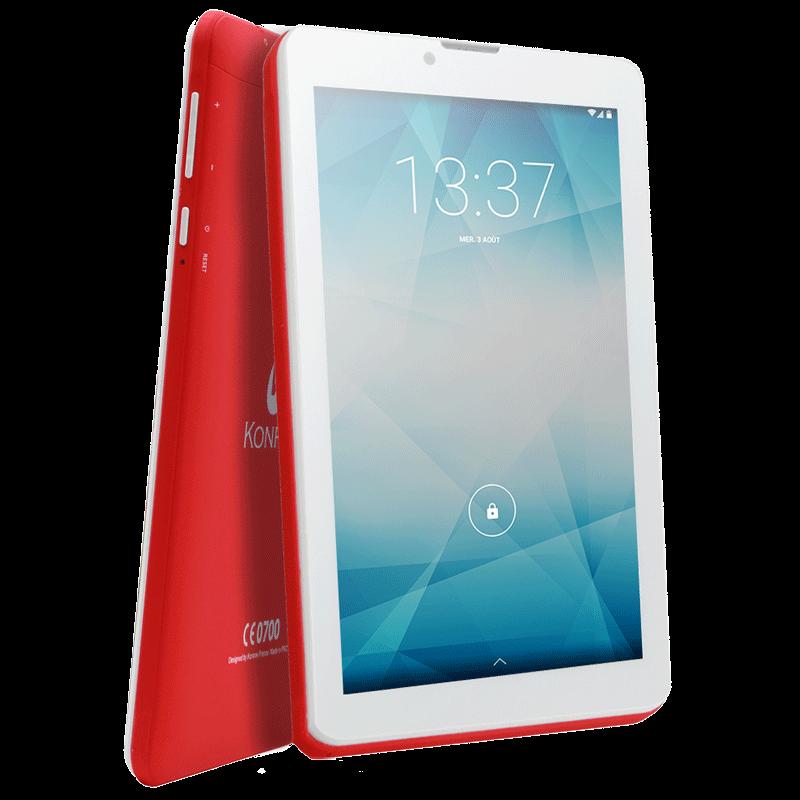 Tablette K-TAB 702X rouge