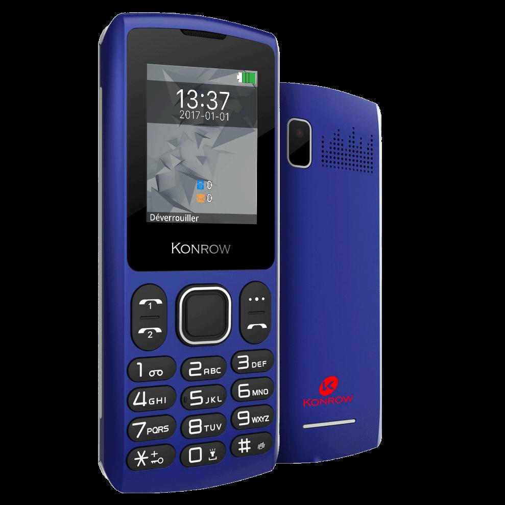 Mobile CHIPO3 bleu nuit