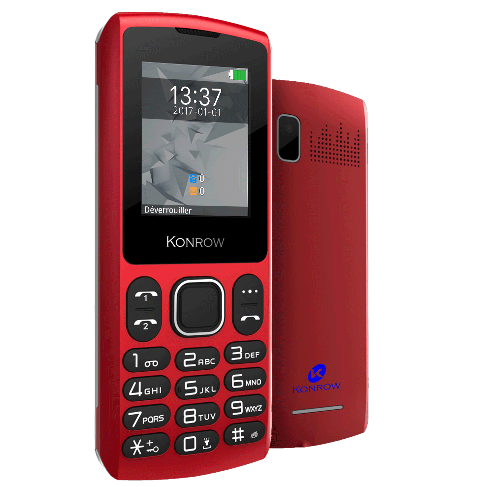 Mobile CHIPO3 rouge