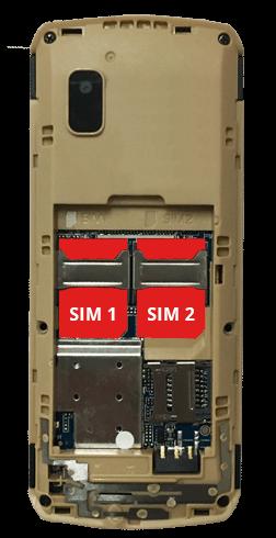 Chipo3 SIM slot