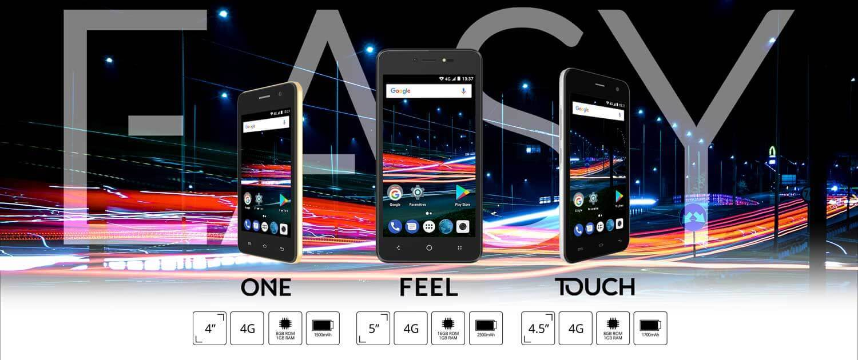 EASY, famille de smartphone 4G