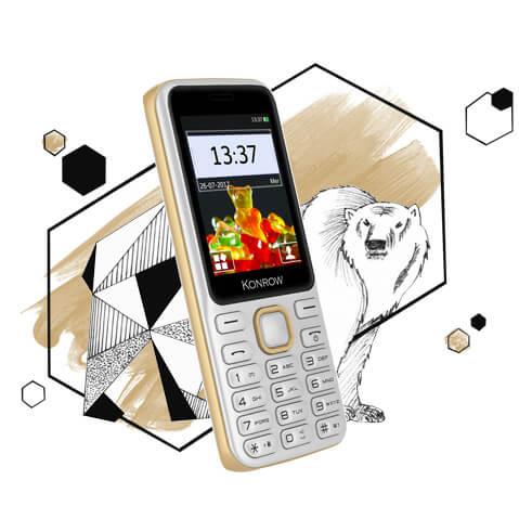 Mobile SWEET modèle blanc et or