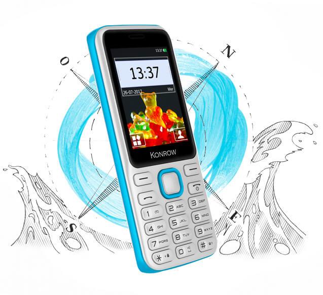 Mobile SWEET modèle blanc et bleu