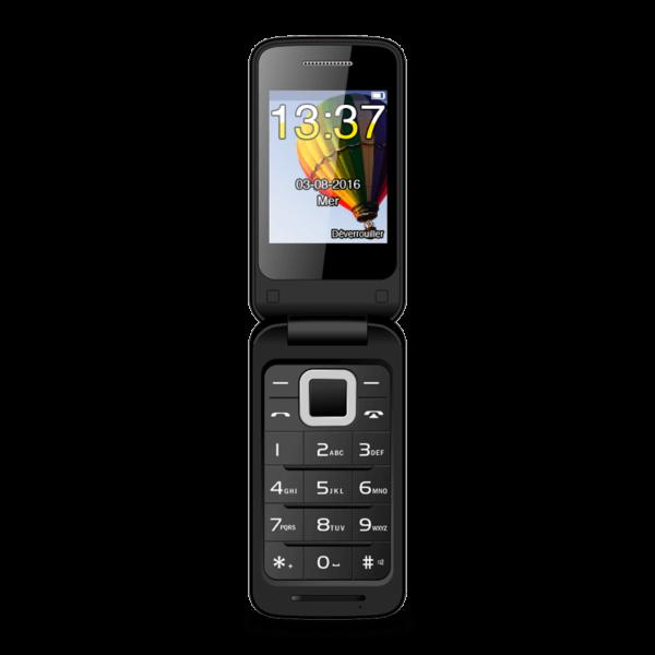 FLIPO, mobile 2G 2,4 pouces