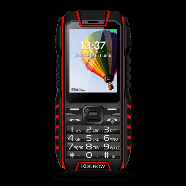 STONE, mobile résistant IP68