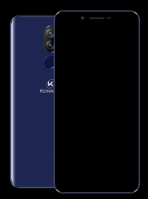 Sky smartphone modèle bleu nuit