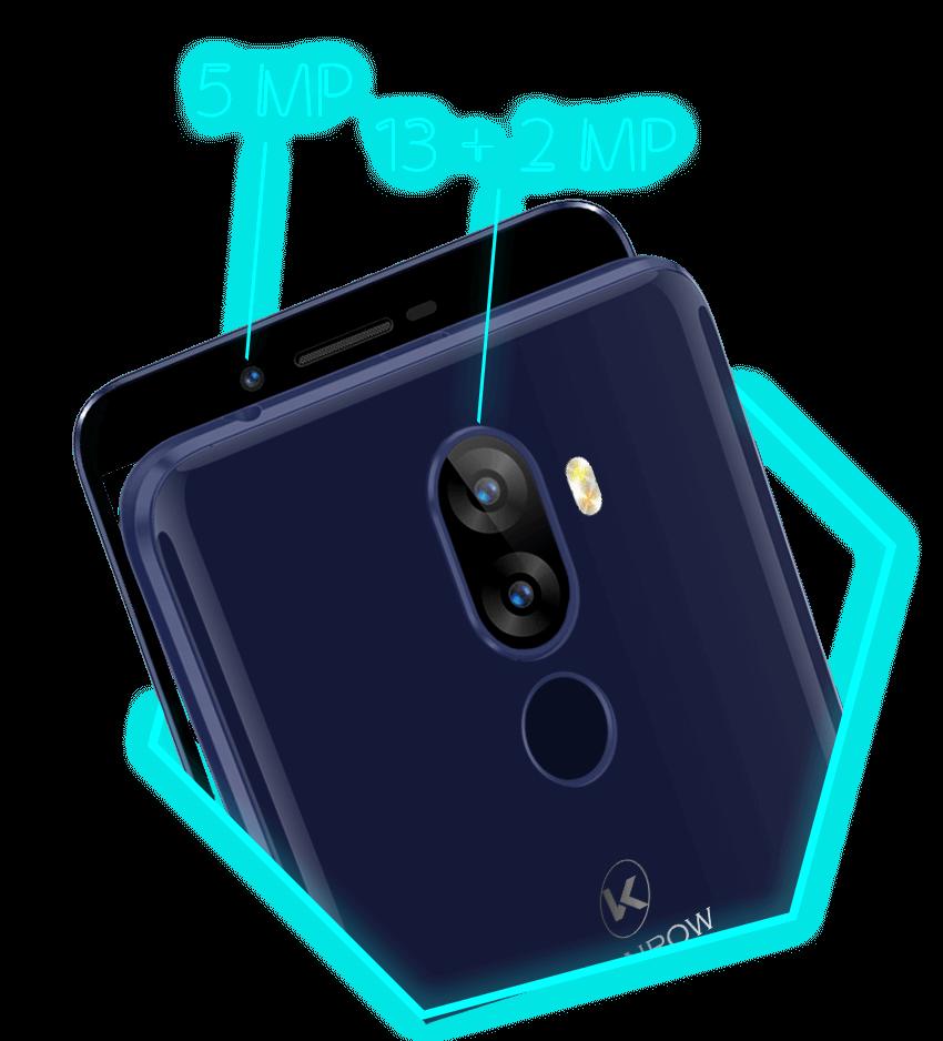 Le smartphone 4G Sky est équipé du dual lens. Sortez, capturez.