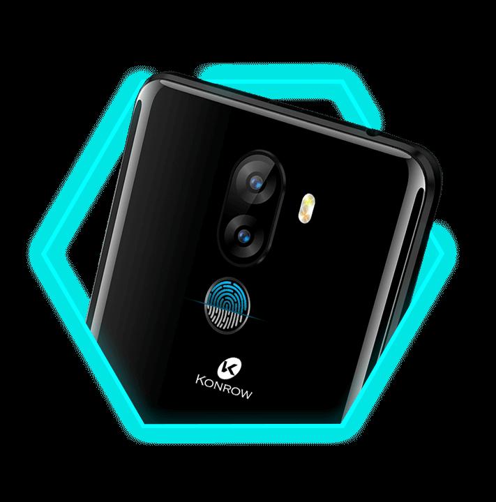 Le smartphone 4G Sky est équipé du fingerprint pour sécuriser vos données.