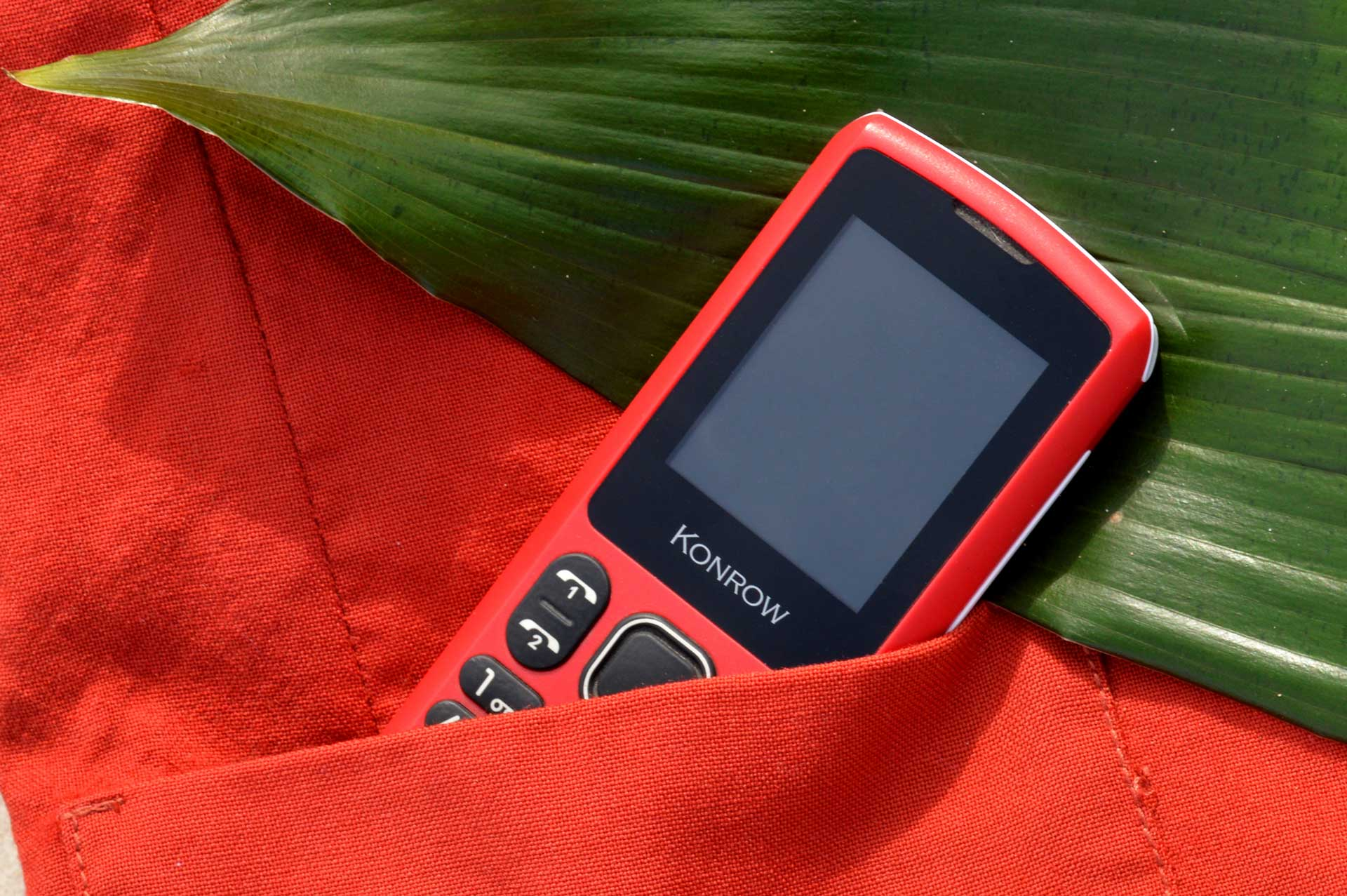Have a look at Konrow's mobile phones range