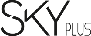 SKY Plus - Logo noir