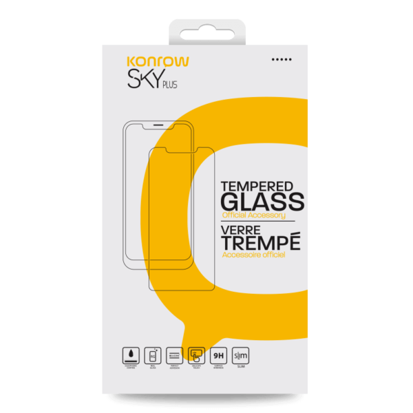 Tempered glass protection for SKY Plus smartphone