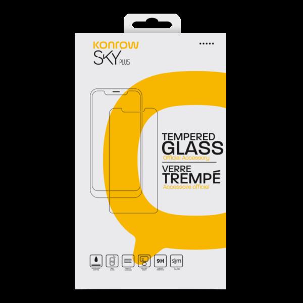 Protection en verre trempé pour smartphone SKY Plus