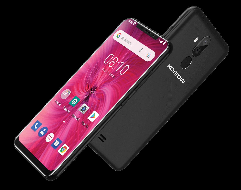 Smartphone easy62 noir 3D