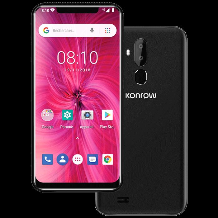 Smartphone easy62 black