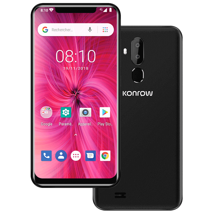 Smartphone easy62 noir