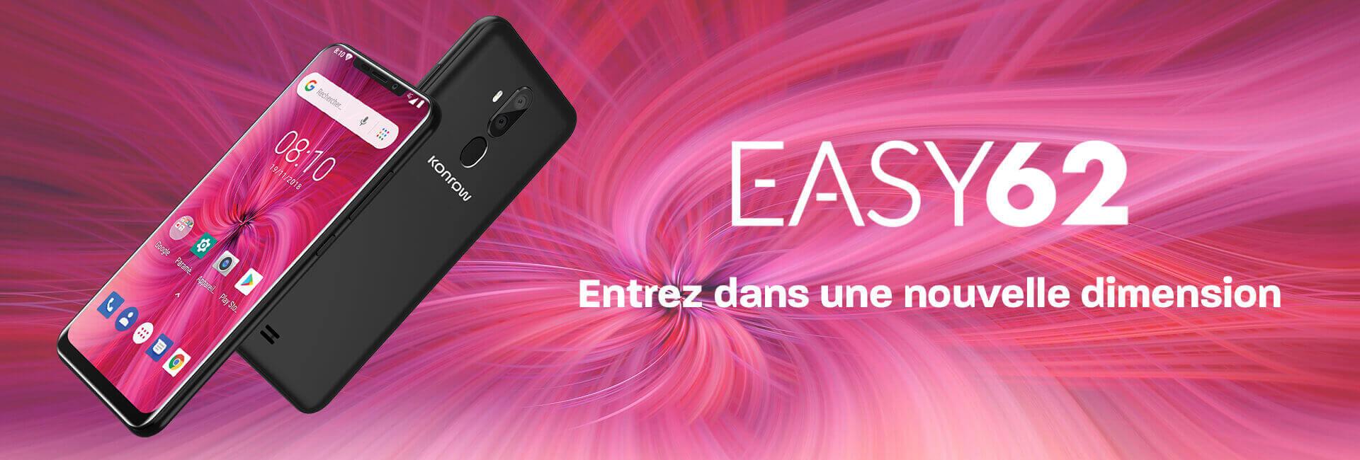 Bandeau Easy62, entrez dans une nouvelle dimension