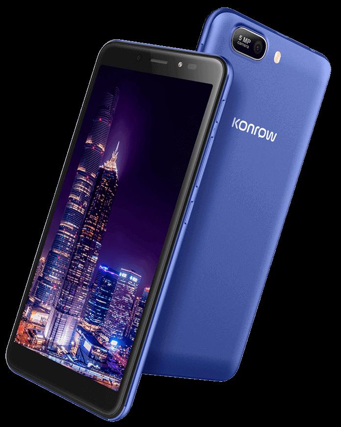 Smartphone city55 bleu