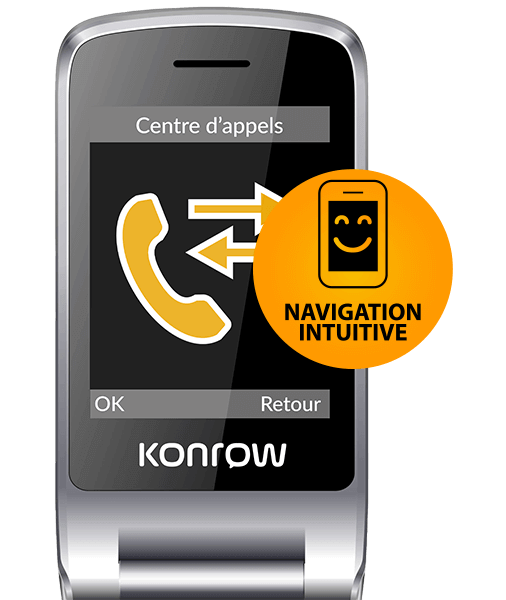 konrow senior c navigation intuitive