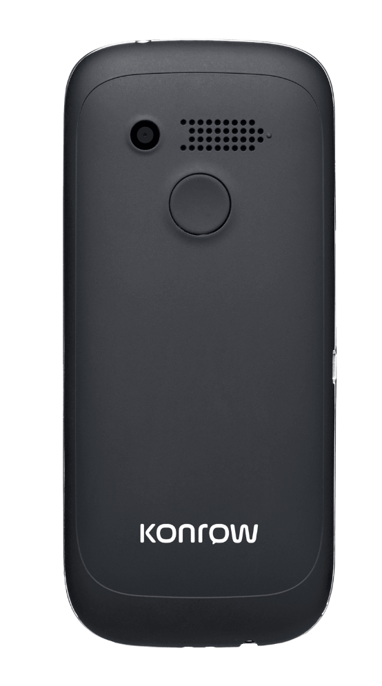 konrow Senior 231 face noir